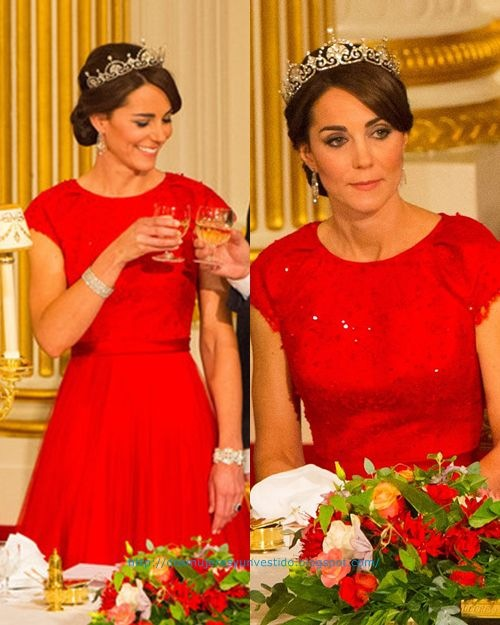 Kate Middleton State Visit President China