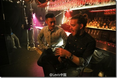 Shawn Yue X Levi's - Lunar New Year 2016 Behind the Scene 01