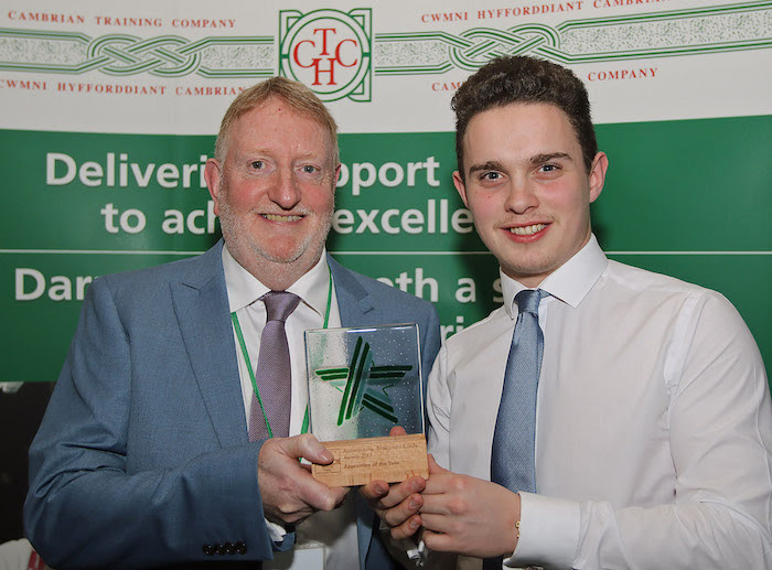 Danny is named Apprentice of the Year