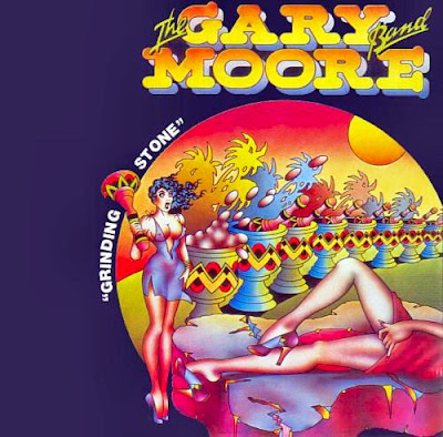 the Gary Moore band ~ 1973 ~ Grinding Stone