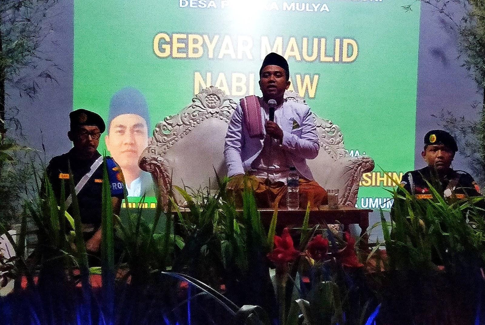 Muludan, Karang Taruna Dusun Parakanceuri undang Ketua Rijalul Ansor Jabar