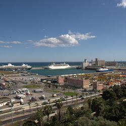 Barcelona, Hafen, Spanien