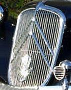 Citroën Traction calandre 15-Six après 1948