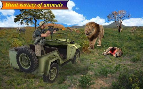 Wild Animal Shoot Hunter: Sniper Hunting Mission - náhled