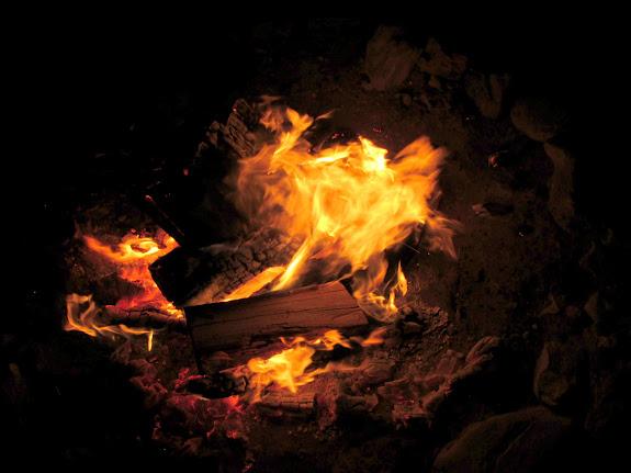 Camp fire shenanigans