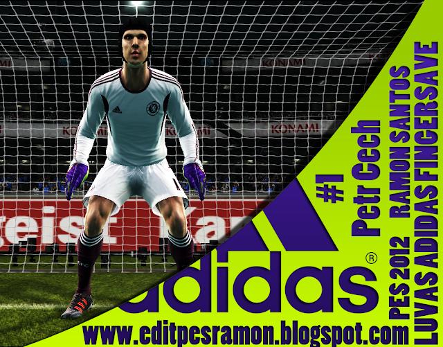 Luvas Adidas Fingersave - PES 2012
