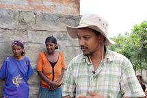 Gimay Hardu, vedoucí inženýr vodních projektů Člověka v tísni v Etiopii. (Foto: Monika Ticháčková)