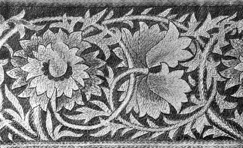Art in Needlework 1900: darning