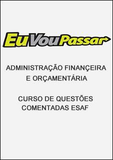 capaadm1 Download   AFO   Curso de Questões Comentadas ESAF