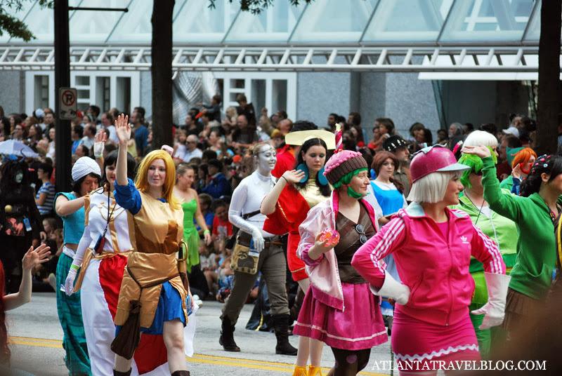 Парад Dragon Con