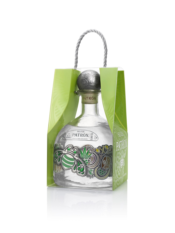 Patrón Tequila Perfects Holiday Gift Giving with Patrón Silver One-Liter Limited Edition Bottle