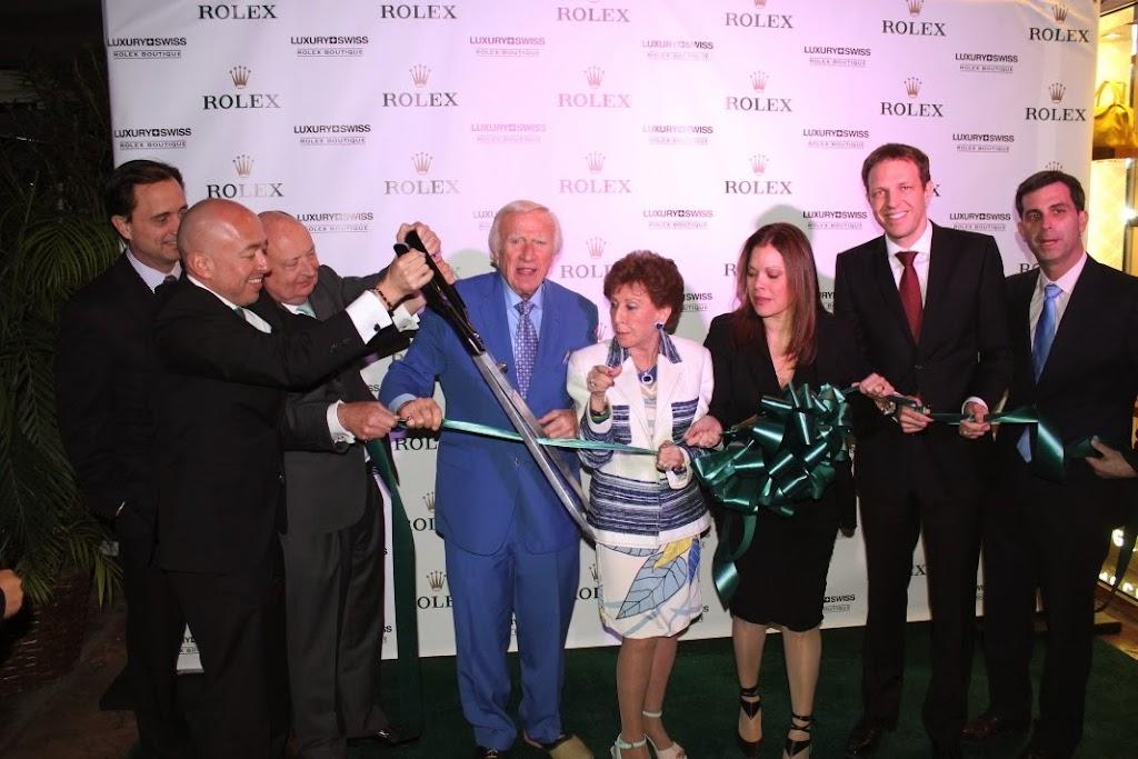Rolex Miami Boutique Luxury Swiss LLC Ribbon Cutting 9