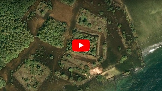 Ilha de Nan Madol poderia ser a Atlântida