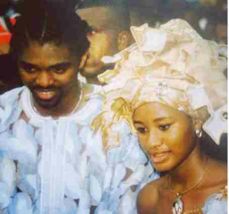 Kanu Nwankwo and wife celebrate 13th traditional wedding anniversary