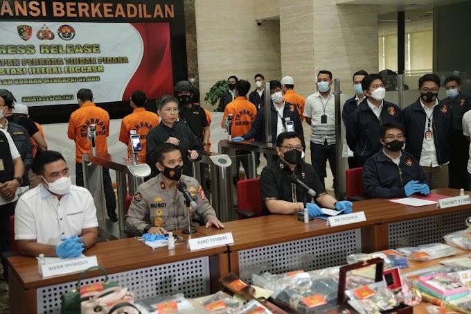 57 ribu Member Dirugikan, Polri Tangkap Bos Investasi Bodong EDCCash