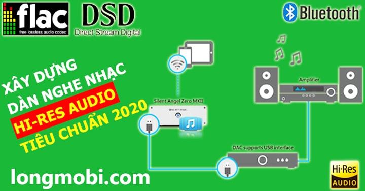 xay dung dan nghe nhac hi-res audio chuan 2020