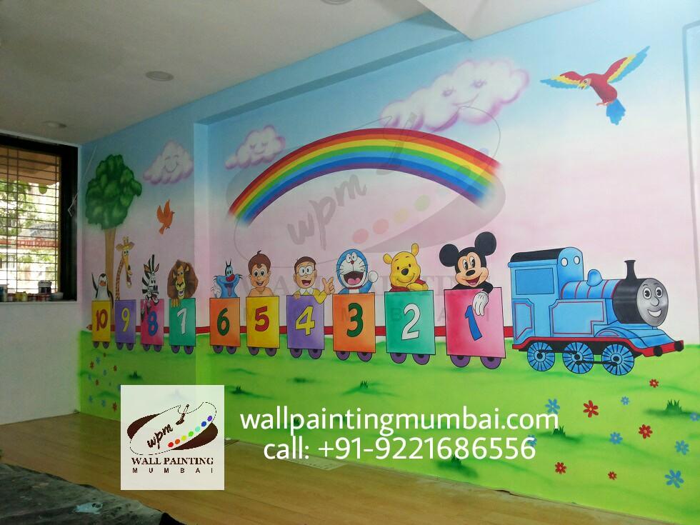 Playschool Wall Murals