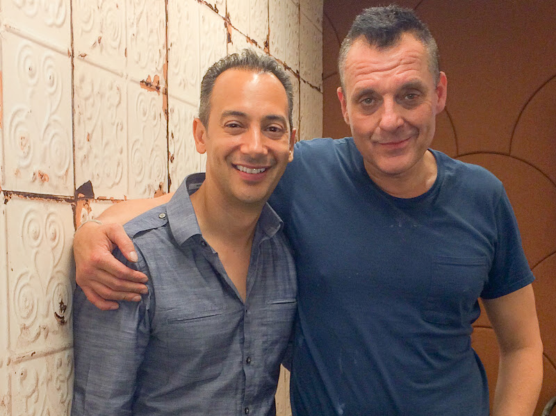 Hanging with by good friend Tom Sizemore on set for Black Wake.