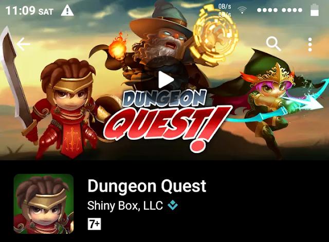 """Mencoba Game Android RPG Ringan """"Dungeon Quest"""" Bisa Offline dan PvP Juga!"""