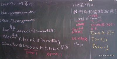 LEX和YACC原理說明
