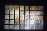 """Installation """"Les visages de L'EPSM de Bailleul"""", dans le cadre du Festval franco-belge LE NORD MAGNETIC"""