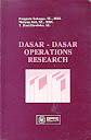 Dasar-Dasar Operations Research