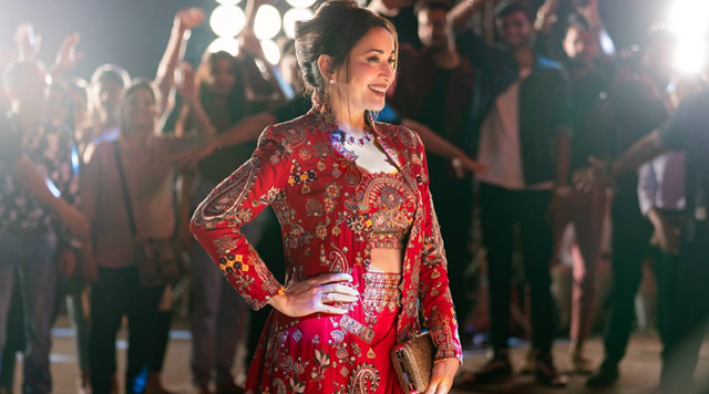 Finding Anamika first look: Madhuri Dixit is a global superstar on the run.