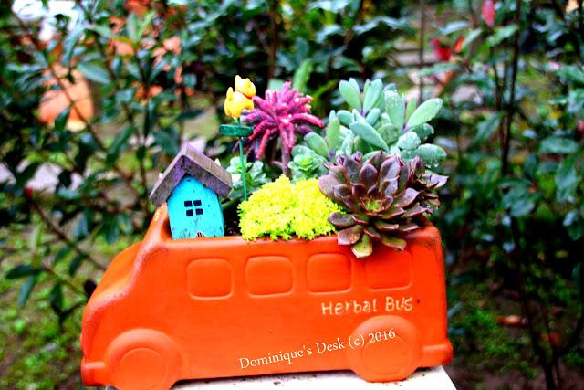 A bus planter