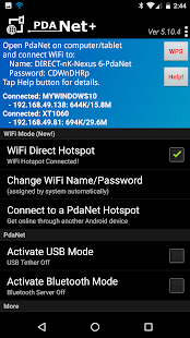 Pdanet full version, how to use how to share any VPN connection via hotspot,