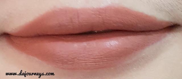 [Review] Face2Face Cosmetics Xoxo Lipstick Matte Persimmon Pie