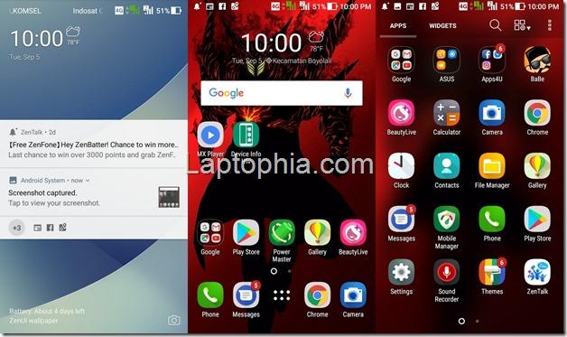 Software & Fitur Asus Zenfone 4 Max Pro ZC554KL