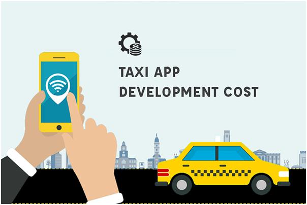 Taxi app development cost