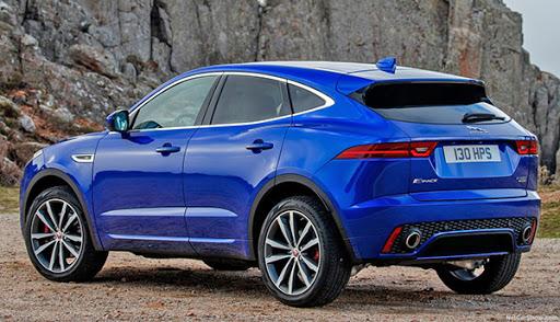 Burlappcar: 2021 Jaguar E-Pace: small changes...