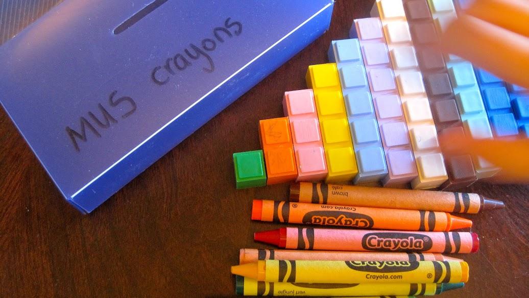 math crayons