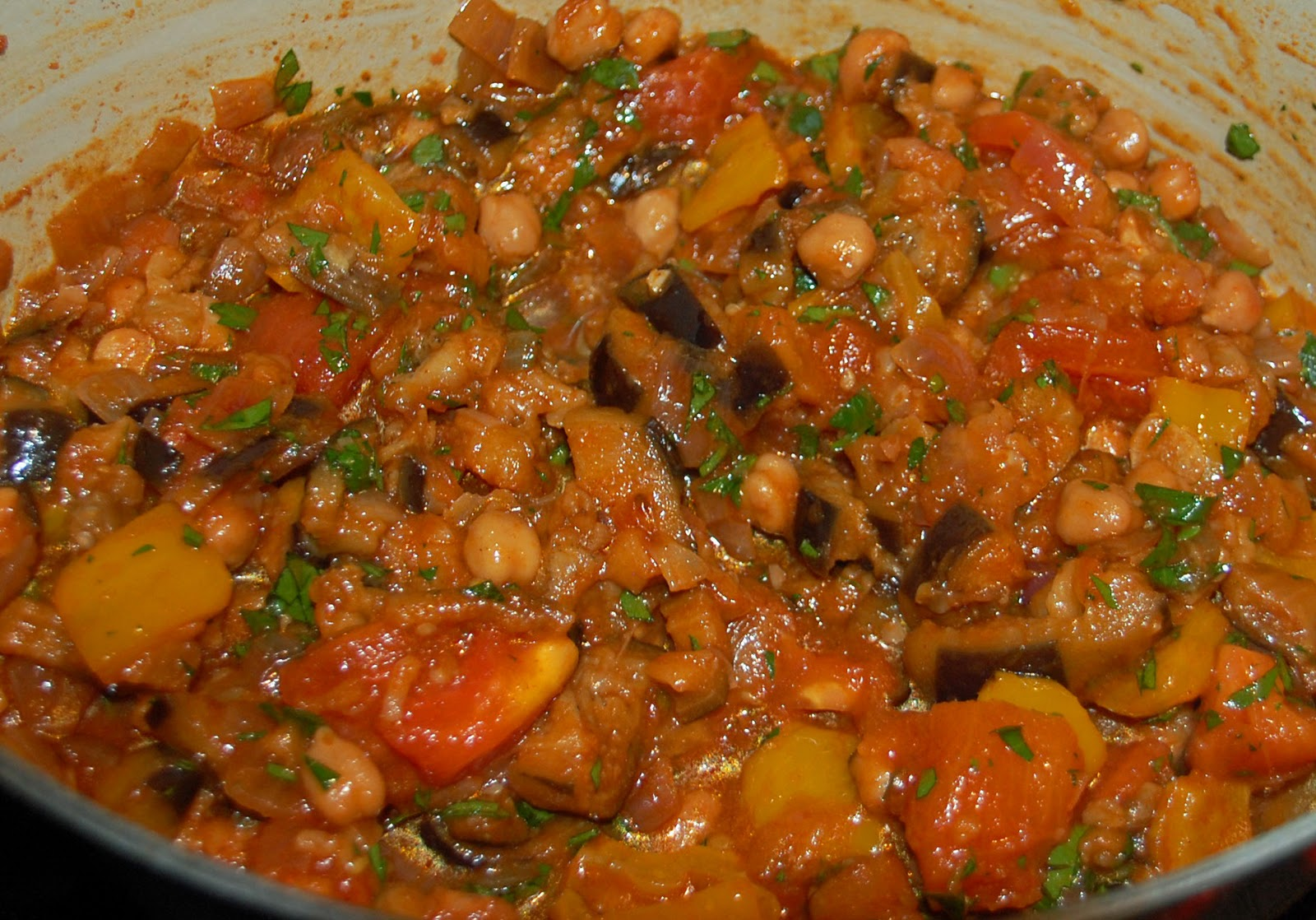 Southern Lady's Recipes: Eggplant Stew with Tomatoes and ...