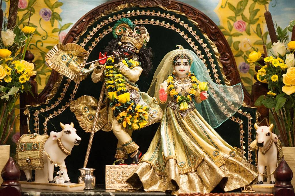 ISKCON Goloka Dhama, Germany Deity Darshan 31 Jan 2016 (1)