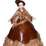 25. kép: Formatorták (lányoknak) - Western lány torta
