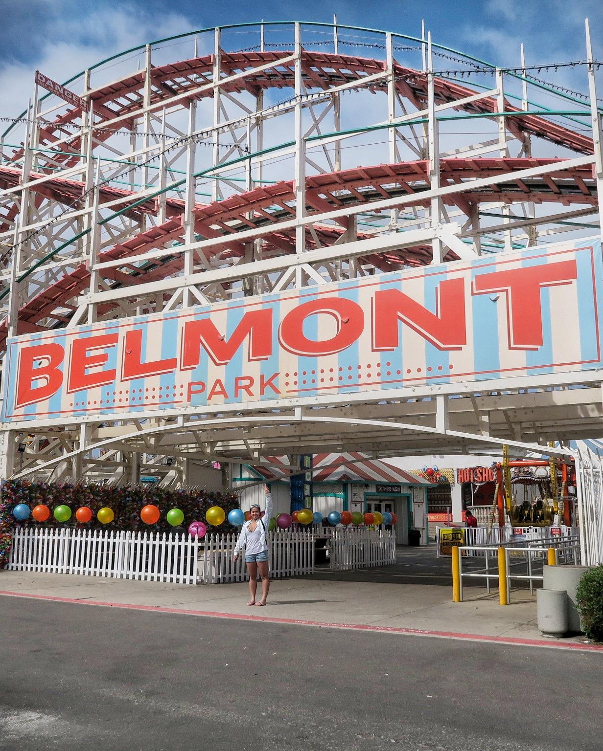 San Diego amusement park roller coaster