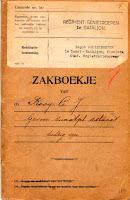 Kooij, Cornelis Johannes Zakboekje Genietroepen 1920 a.jpg