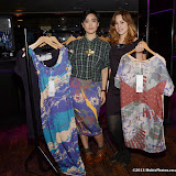 WWW.ENTSIMAGES.COM -   Abbie Price and Emily Coles of RAJE  with Go To Print and Take a Bow Dresses    at       Bloggers Love Shopping Event at Penthouse London September 26th 2013                                                   Photo Mobis Photos/OIC 0203 174 1069
