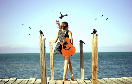 guitar-girl-beach