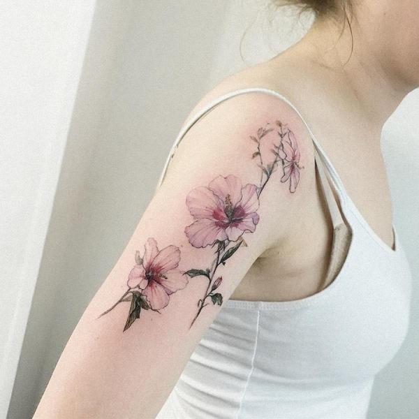 esta_extraordinria_aquarela_flor_da_tatuagem