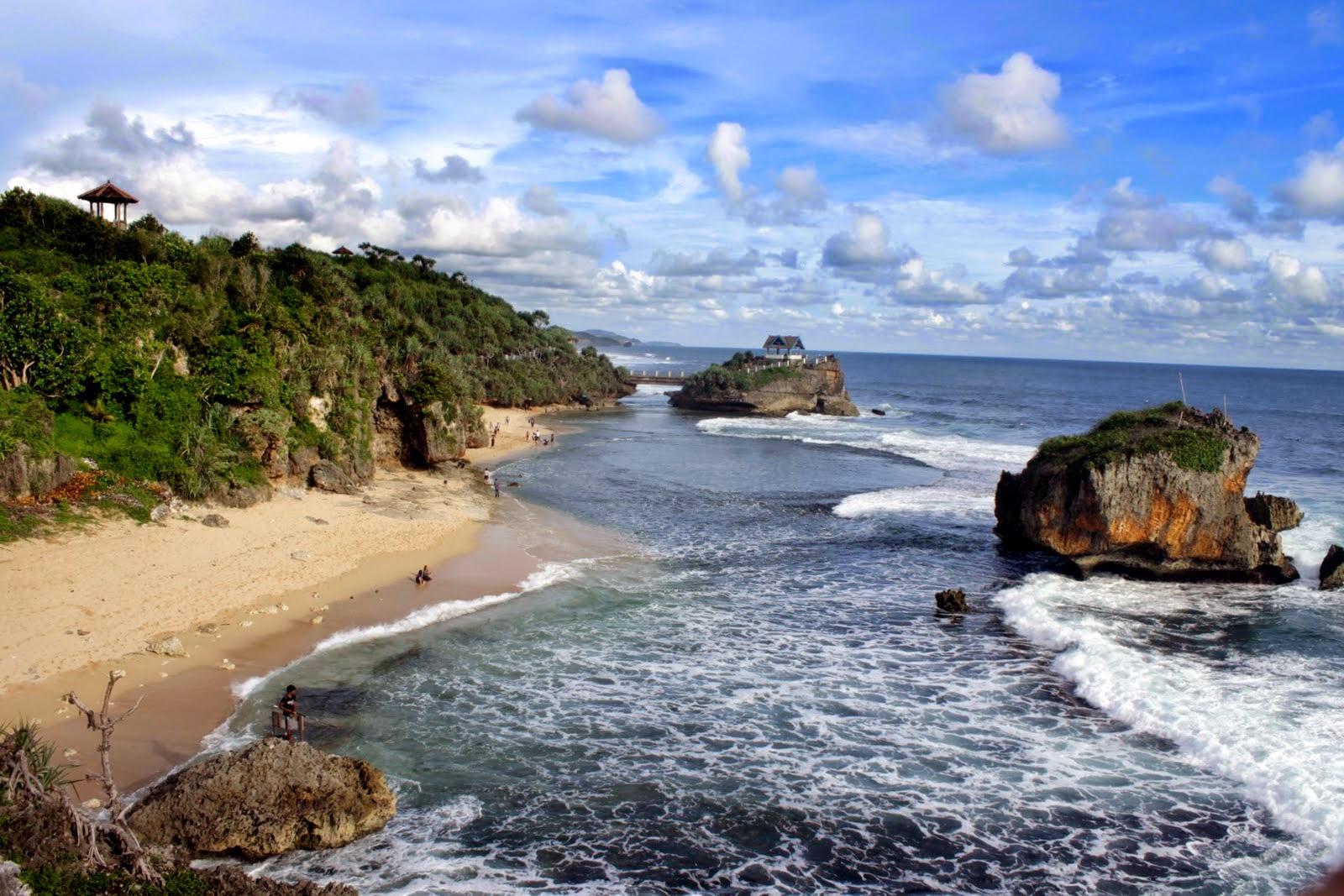 19 Tempat Wisata Pantai Di Jogja Yang Indah Dan Cantik