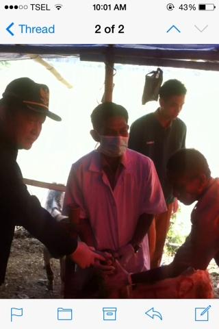 Sidak Lapak Hewan Kurban, Suyitno : Aman Dari Penyakit Menular