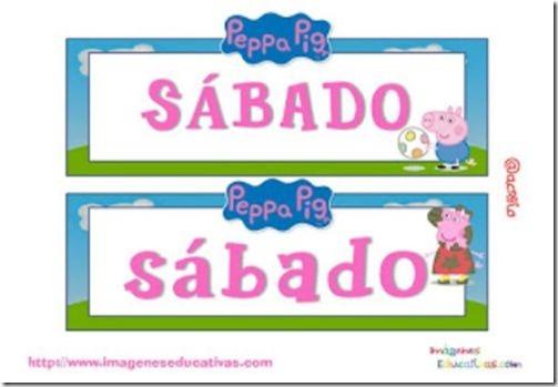dias de la semana peppa pig (3)