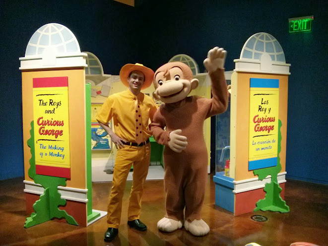 Curious George comes to the Fort Worth Museum of Science and History