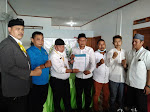 Begini Pesan..!! Ketua DPD LBH PMBI,  Diacara Pengukuhan LBH PMBI DPAC Sukadiri