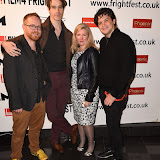 OIC - ENTSIMAGES.COM - Chris Blaine, Ben Blaine, Cassandra Sigsgaard and Shaked Berenson at the Film4 Frightfest on Monday   of  Nina Forever  UK Film Premiere at the Vue West End in London on the 31st  August 2015. Photo Mobis Photos/OIC 0203 174 1069