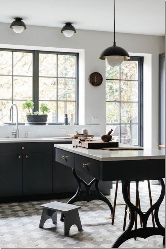 case e interni - stile scandinavo a new york - colore grigio - blu (0)