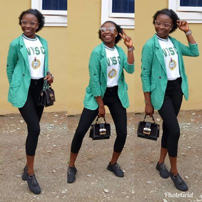 That sexy Ebonyi corper is passing out tomorrow
